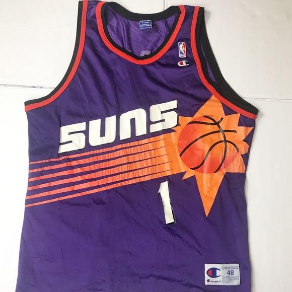 buy popular 6e721 183fb Hardaway purple basketball jersey XL PHOENIX SUNS
